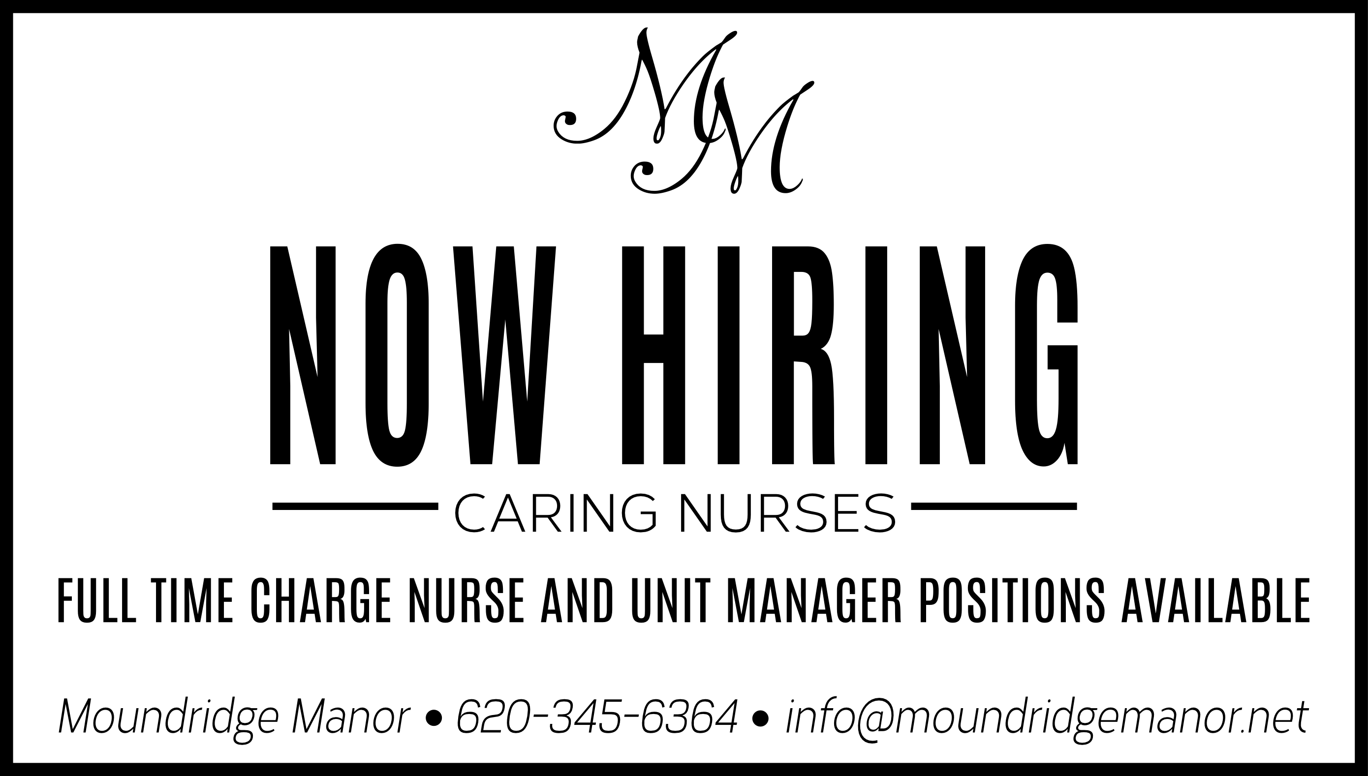 Caring Nurses Needed